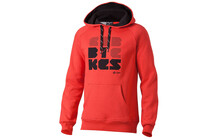 Cube Font Hoody rouge